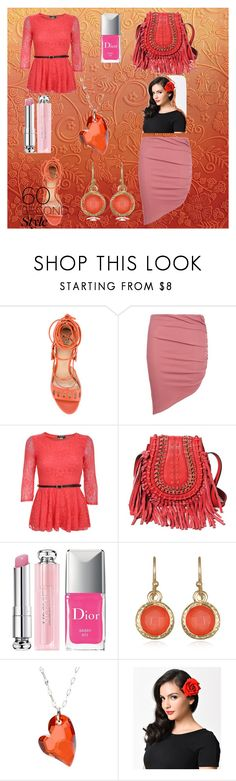 """One and done"" by jujubee-964 on Polyvore featuring Paula Cademartori, Boohoo, Pilot, Aimee Kestenberg, Christian Dior, Mixit, La Preciosa, asymmetricskirts and 60secondstyle"