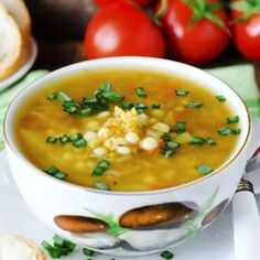 This soup is a great vegetarian alternative to help cure what ails you this cold and flu season. It is also quick and easy to make with just enough spiciness to clear those sinuses and soothe that sore throat. Lunch Recipes, Great Recipes, Soup Recipes, Breakfast Recipes, Recipies, Lentil Curry, Lentil Soup, Cooking Tips, Cooking Recipes
