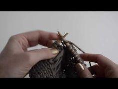 Wie man das Caliper Zopfmuster strickt