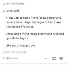 Why do people like Snape? I'm kinda guilty of this myself, but I don't worship him. Do people in this fandom worship him?>>> Snape is a slimey facist cucumber. You can't change my mind Harry Potter Fandom, Harry Potter Universal, Harry Potter Memes, Hogwarts, Slytherin, Bad Gyal, Drarry, Jily, Must Be A Weasley
