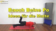Praxisvideo Bauch Beine Po Übungen für die Matte