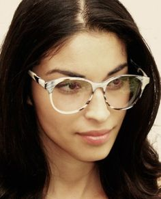 rio zebra horn optical glasses // prism london...