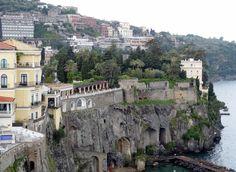 View to left of balcony, Sorrento