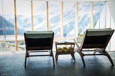 Erholung, Ruhe und wunderbare Aussichten in unserem Alpin Spa #wellness #gesundheit #spa #urlaub #arlberg #lech #goldenerberg