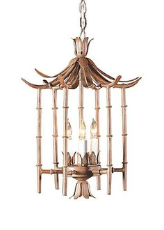 Wildwood Lamps Table Lamp - Iron Bamboo Lantern