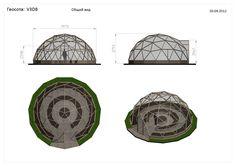 V3D8 — Геосота (универсальный геодезический купол)