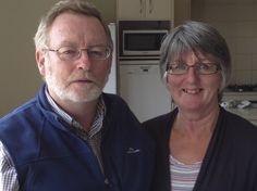 Maureen and Tom Smyth enjoyed Marist hospitality at the Hermitage during 2012.