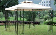 Pavillon Amazonas Genießen Sie die Sommerzeit im Freien! Dieser Pavillon schafft einen optimalen  Raum für gemütliches Beisammensein, auch bei großer Hitze oder in kühlen Nächten.  Ideal, um in geselliger Runde mit Freunden zu sitzen und zu feiern. Dieser Pavillon ist in jedem Garten eine Augenweide und ein praktischer  Lebensraum.  Artikelmerkmale:  * Ausgestattet mit einem Lüftungsdach * Material Gestell: Stahl  * Material Dachbespannung: 100% Polyester * Farbe: schwarz / natur…