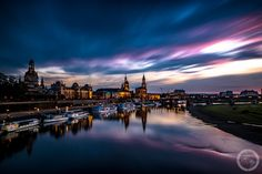 I Invite You To Walk Through The Streets Of Dresden At Night