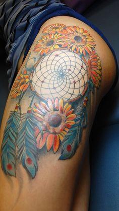 dreamcatcher+tattoos   dream catcher tattoo by joseph haefs