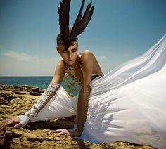 Greek Pride | Rosanna Georgio | Thanasis Krikis #photography | Vogue Hellas (Greece) July2012