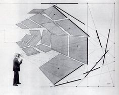 Herbert Bayer, Diagram of the Field of Vision