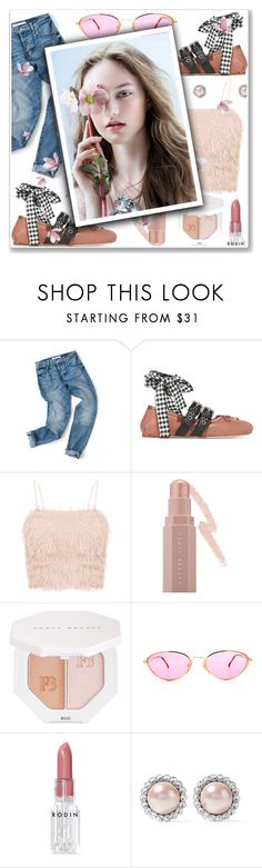 """""""flower cool"""" by jasmimbonlevour ❤ liked on Polyvore featuring Miu Miu, Puma and Rodin"""