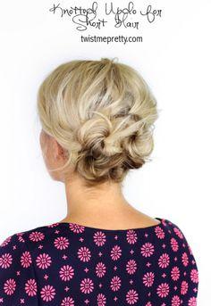 25 prom gaya #untuk gadis-gadis #dengan rambut pendek...