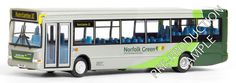 Plaxton SLF Dart Company Norfolk Green Route 10 to Hunstanton Fleet Number 34700 Scale 1 76 Expected - September Norwich Buses, Busses, Norfolk, Diecast, Corgi, Lego Vehicles, Green, Model, Scale
