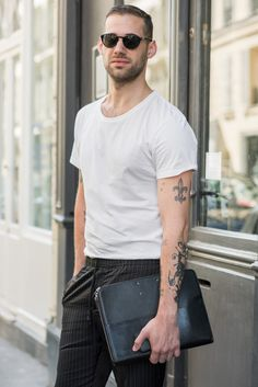 What We Wore: The Barneys Men's Team Takes Europe