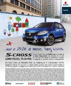 Porte aperte per Suzuki S-Cross in più l'offerta Suzuki Flex permette di acquistare la vettura a condizioni molto vantaggiose