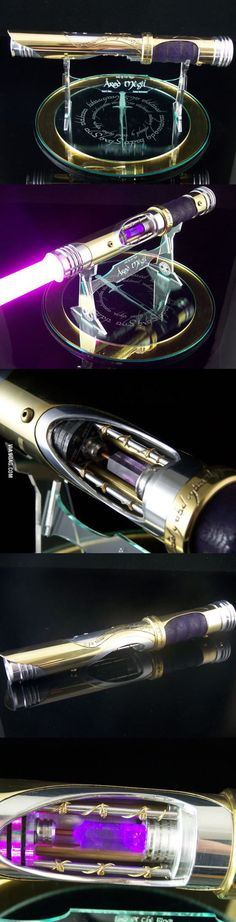 I need this lightsaber!