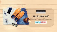 Shoppers Stop Store – Clothing UPTO 60% OFF at Snapdeal Brand Stores. Limited time offer. Hurry!  www.discountplusshop.com  #Clothingoffer #Onlineoffer.