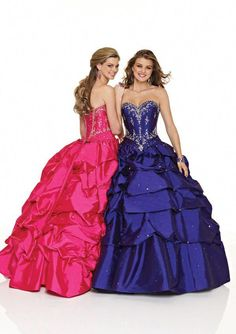 2f9b1922d4 Newest In Stock Cheap Sweetheart Taffeta Quinceanera Dresses 2017 Ball Gown  Embroidery Beaded Crystals Sweet 16 Dresses