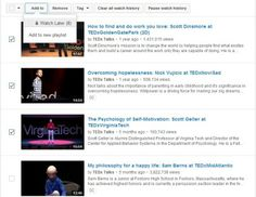 The YouTube History saves watching video information and Use the YouTube History to manage well