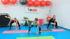 sikory drep s preskokom a dotykom Gym Equipment, Exercise, Fitness, Sports, Ejercicio, Excercise, Sport, Tone It Up, Work Outs