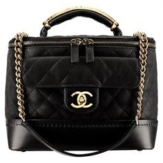 Hi girls! Today we are going to talk about cute Chanel Vanity case bag! Because box bags are getting trend every single day! And if you're a real Chanel. Best Handbags, Chanel Handbags, Purses And Handbags, Chanel Purse, Designer Handbags, Chanel Chanel, Designer Bags, Designer Clothing, Moda Chanel