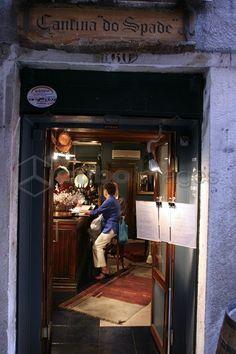Cantina Do Spade restaurant, Sestiere San Polo, Venice, Veneto, Italy
