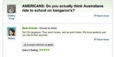Lol I swear we aren't that stupid...