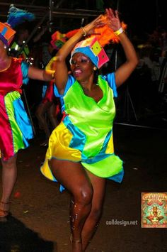Taz shaking it! | Cape Town Carnival 2014