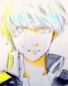 Yu Narukami crying by めがね @megane_bantefu