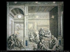 martini francesco di giorgio Nascita della Vergine Painting, Art, Painting Art, Paintings, Painted Canvas