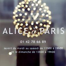 alice à Paris vêtements enfants - Le Marais 14 RUE SÉVIGNÉ, 75004 PARIS  Voir sur un plan +33(0)1 42 78 66 89 ouvert le lundi de 14h00 à 19h00 du mardi au samedi de 11h00 à 19h00 et le dimanche de 13h00 à 19h00