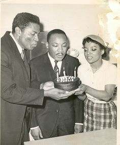 Ruby & Ossie with Martin Luther King Jr.