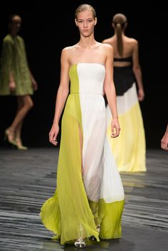 J. Mendel Spring Summer 2015 New York Fashion Week