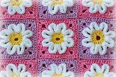 3D flower square