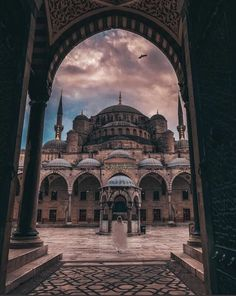 The Blue Mosque in Istanbul is like falling in lov. - The Blue Mosque in Istanbul is like falling in lov. Blue Mosque Istanbul, Istanbul City, Istanbul Travel, Beautiful Mosques, Beautiful Places, Hagia Sophia Istanbul, Restaurants In Paris, Mecca Wallpaper, Turkey Destinations