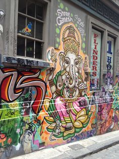 Hosier Lane, CBD
