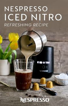 Two incredible recipes for all the coffee lovers out there, super chic and sleek coffee viennois and cool and dark iced nitro! Milk Recipes, Coffee Recipes, Blended Coffee Drinks, Homemade Iced Coffee, Cold Brew At Home, Biggby Coffee, Nitro Cold Brew, Making Cold Brew Coffee, Nitro Coffee