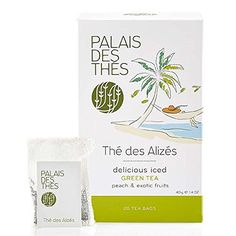 Signature Blend from Paris  Green Tea with Pieces of White Peach Kiwi and Watermelon THE DES ALIZES  Premium Whole Leaf Tea in Twenty 100 Cotton Hand Sewn Bags >>> See this great product.Note:It is affiliate link to Amazon.