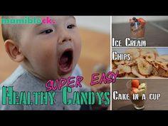 DIY   Gesunde Süßigkeiten   Ice cream, chips & cake   super easy, super gesund   mamiblock kiDchen - YouTube