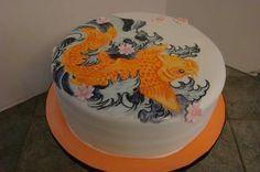Koi Cake....:)