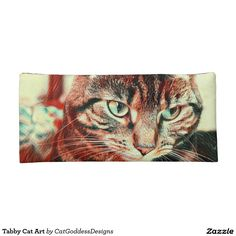 Shop Tabby Cat Art Pencil Case created by CatGoddessDesigns. Cat Insurance, Tiny Cats, Cat Urine, Best Puppies, Dog Anxiety, Owning A Cat, Dog Logo, Cat Room, Cat Behavior