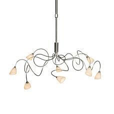 Hanglamp Annabel 8 staal - 90596
