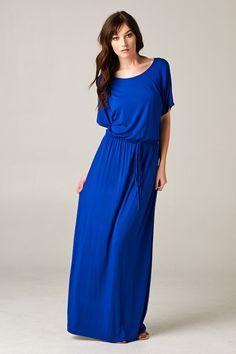 Ella Dress in Cobalt on Emma Stine Limited