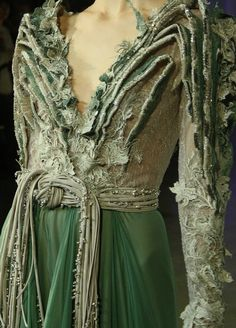 Basil Soda Green Couture - Inspiration by Color #BasilSoda #GreenDress #Green