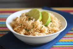 Chipotle Lime Rice by barefeetinthekitchen #Rice #Lime #Chipotle #barefeetinthekitchen