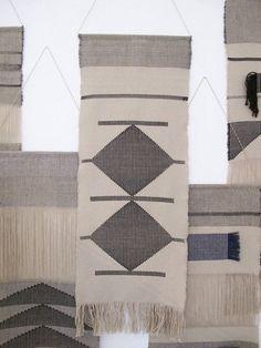 Hand woven wall hanging/ Tapestry/ Fiber art/ Weaving/ Cotton:
