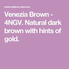 Venezia Brown - 4NGV