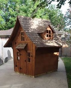 kids wooden castle playhouse - Google Search